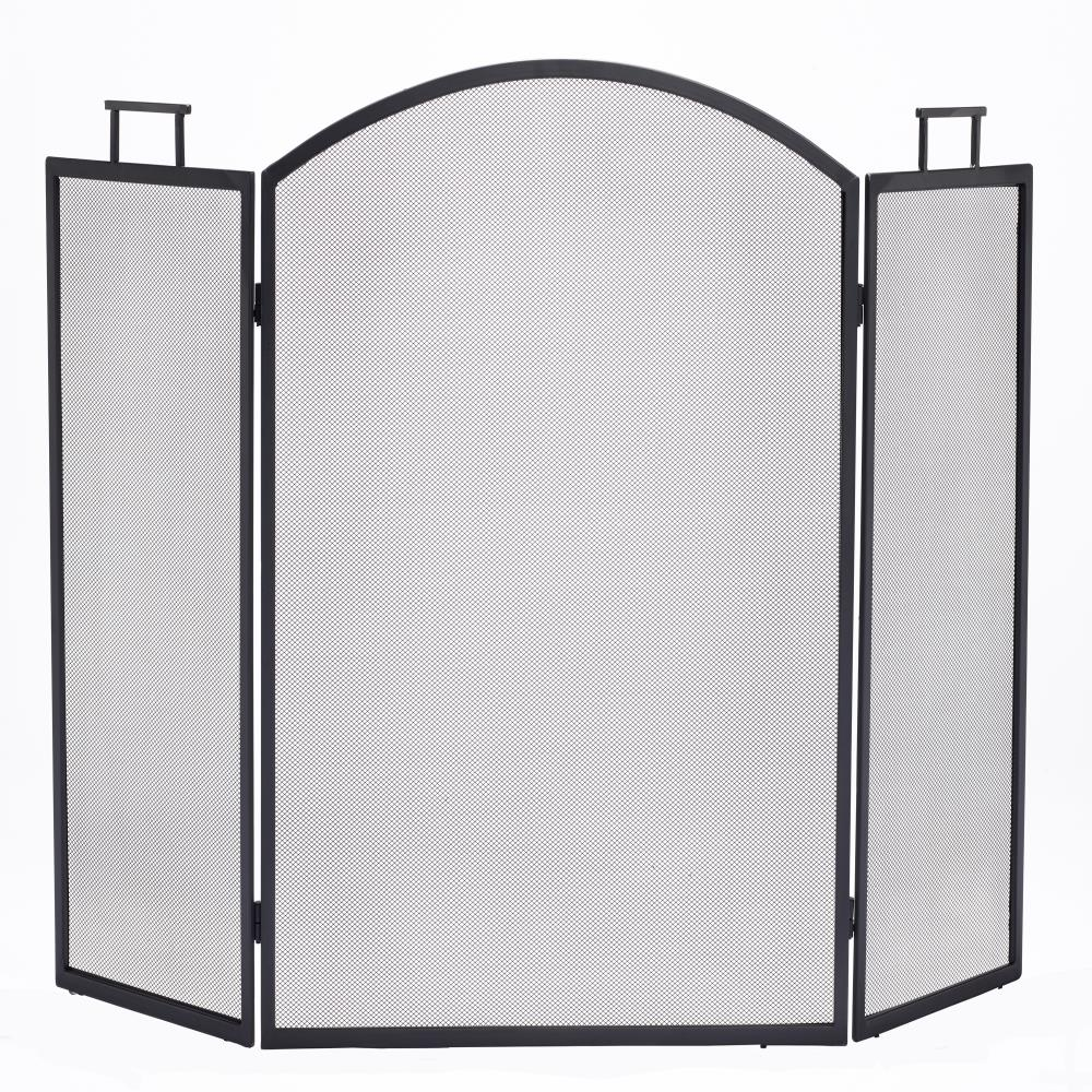 pleasant-hearth-ace-hardware-fireplace-screen