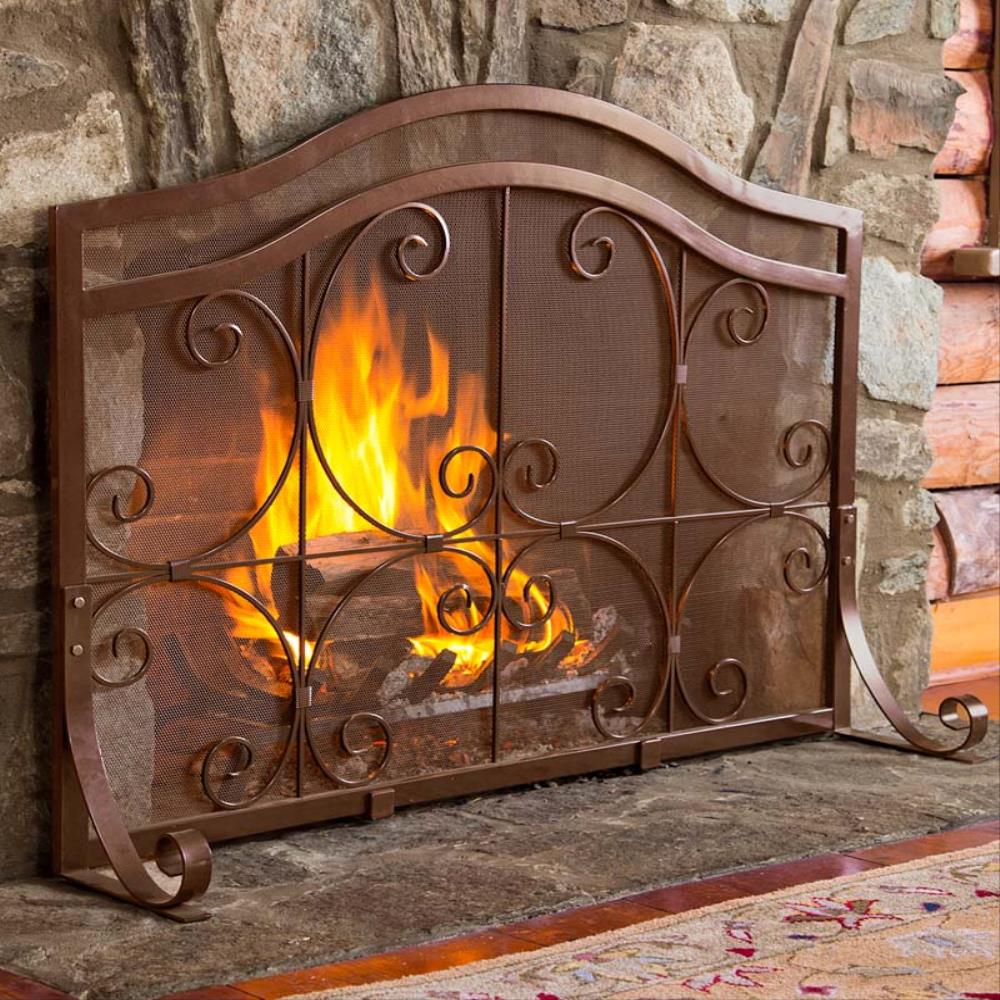 small-crest-flat-fireplace-screens