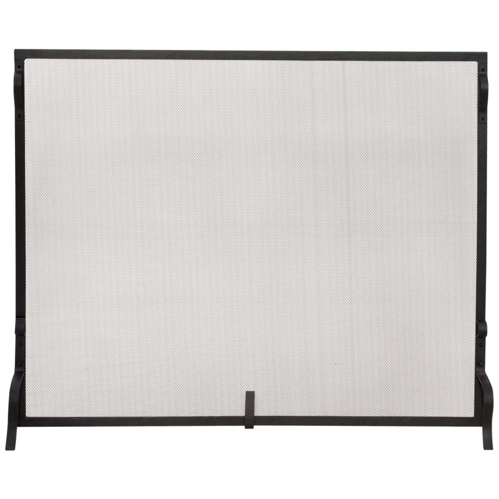 uniflame-single-ace-hardware-fireplace-screen